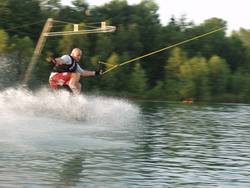 water.skiing