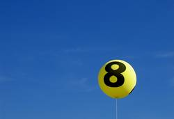 eight balloon