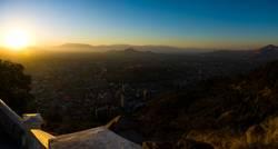 Sonne über Santiago