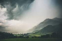 Gewitterwolken im Allgäu