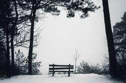 Winteridylle mit Ausblick