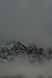 Berg am Morgen