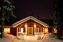Romantic Finnish Winter Holiday House