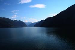 norwegen in blau