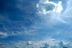 flufy sky III