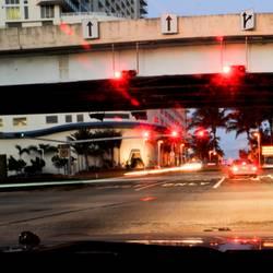 east coast red lights