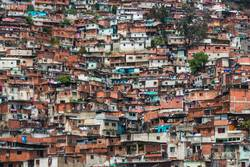 Barrio / Favela / Slum in Caracas, Venezuela