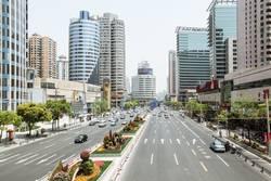 Straßenszene in Schanghai, China