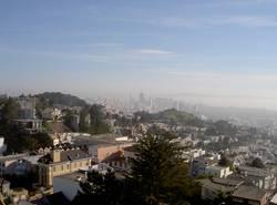 Blick auf San Francisco Downtown