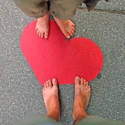Herz und Füsse