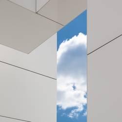 gerahmter Himmel