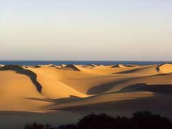 Sanddünen auf Cran Canaria