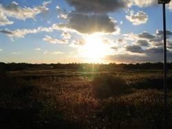Sonnen Untergang Borkum