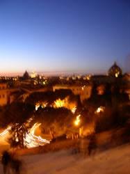 Rom-Nachtblick