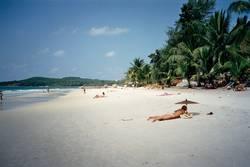 Strand auf Ko Samet 1990