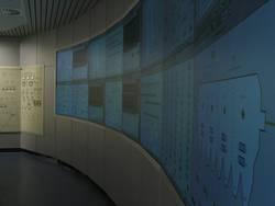 Grossbild Monitorwand