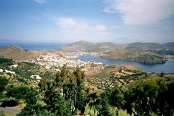 Insel Patmos in Griechenland