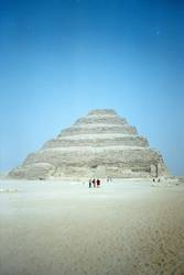 Stufenpyramide v. Pharao Djoser