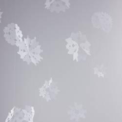 Papier Schneeflocken