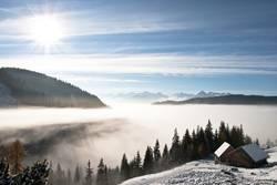 Über der Nebelgrenze