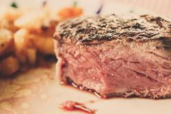 A Steak a day keeps the doctor away.