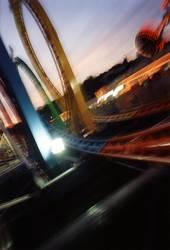 Achterbahn Olympia Looping