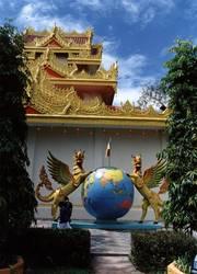 Indisch-burmesischer Tempel