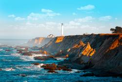 Point Arena Lighthouse, Northern California USA