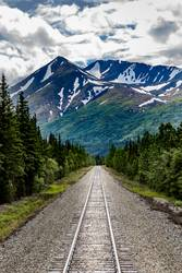 Railroad to Denali National Park, Alaska