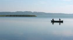 Fischer am Schaalsee