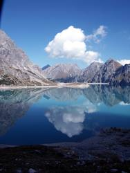 Lüner See im Montafon