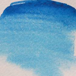 Abstract watercolor background, blue gradient