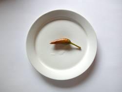einsames frühstück
