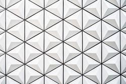 Schöner minimalistischer Dreiecksform-Wandaufbau Hintergrund