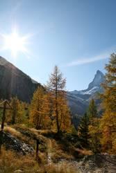 Herbstsession am Matterhorn