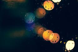 I felt your smell under a rainy night..