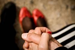 Hand(s) im Glück