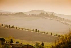 Morgenlicht in der Toskana
