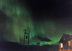 Nordlicht über Steintun