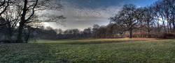 Parklandschaft Panorama