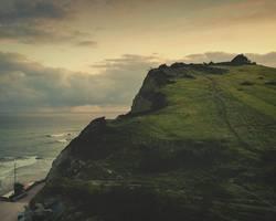 Berge und Meer