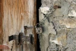 Altes Türschloß