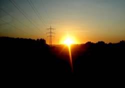 Abendsonne in der Toskana Deutschlands
