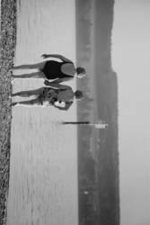 Freundschaft am See