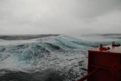 Sturm in der Biskaya