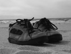 Schuhe machen Pause