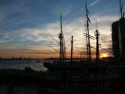 Sonnenuntergang in NYC