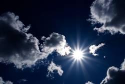 Lets the sun shining