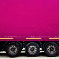 Mein Laster: pink.