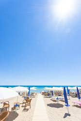 Apulia, Italy - At the beach of Lido Venere